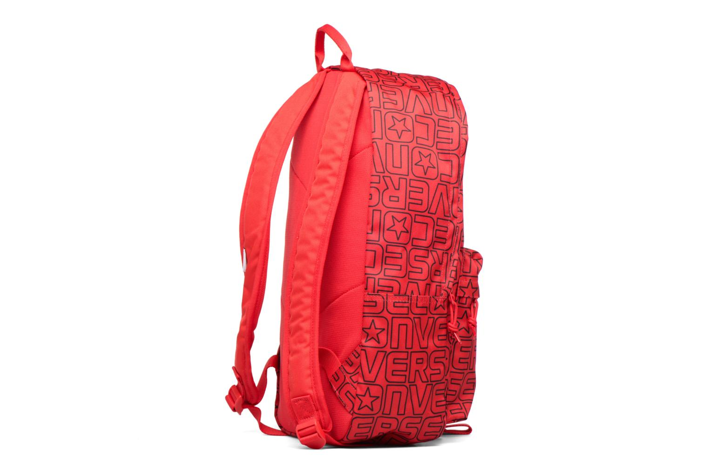 Ryggsäckar Converse Core Poly Backpack M Vinröd Bild från höger sidan