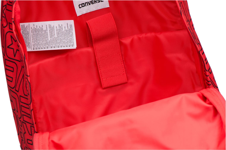 Ryggsäckar Converse Core Poly Backpack M Vinröd bild från baksidan