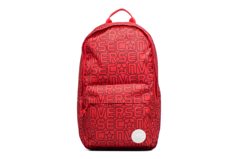 Ryggsäckar Converse Core Poly Backpack M Vinröd detaljerad bild på paret