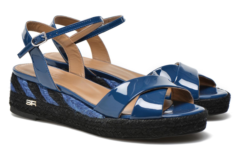 Sandales et nu-pieds Sonia Rykiel Podium 2 Bleu vue 3/4
