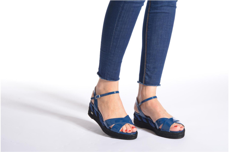 Sandales et nu-pieds Sonia Rykiel Podium 2 Bleu vue bas / vue portée sac