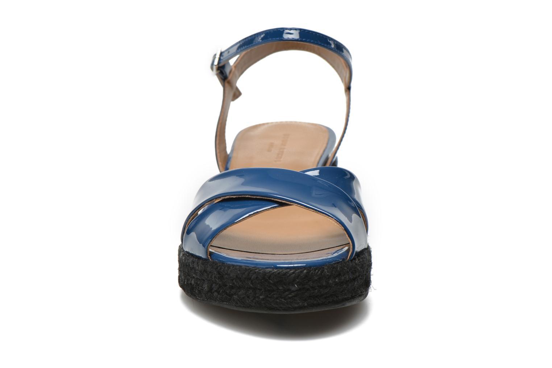 Sandales et nu-pieds Sonia Rykiel Podium 2 Bleu vue portées chaussures
