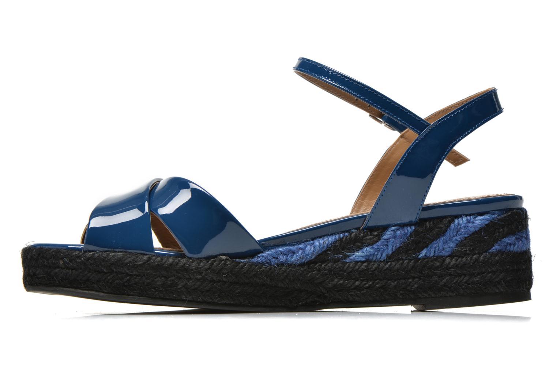 Sandales et nu-pieds Sonia Rykiel Podium 2 Bleu vue face