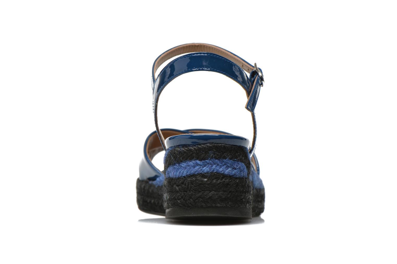 Sandales et nu-pieds Sonia Rykiel Podium 2 Bleu vue droite