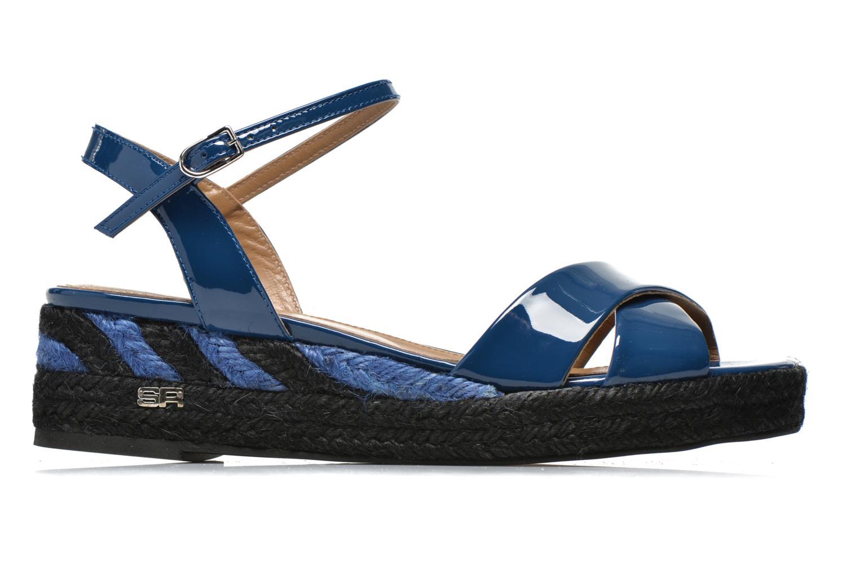 Sandales et nu-pieds Sonia Rykiel Podium 2 Bleu vue derrière