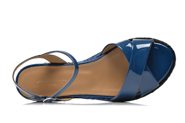 Sandales et nu-pieds Sonia Rykiel Podium 2 Bleu vue gauche
