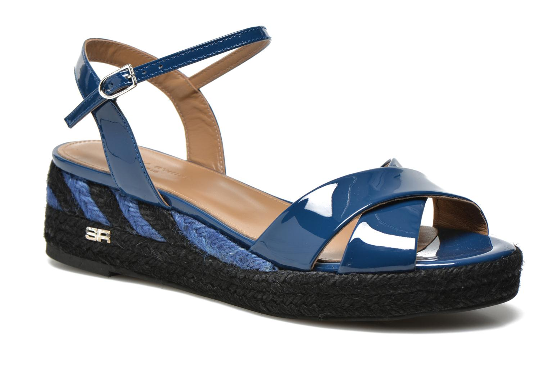 Sandales et nu-pieds Sonia Rykiel Podium 2 Bleu vue détail/paire