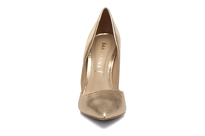 Escarpins San Marina Gerfaut/Met Or et bronze vue portées chaussures