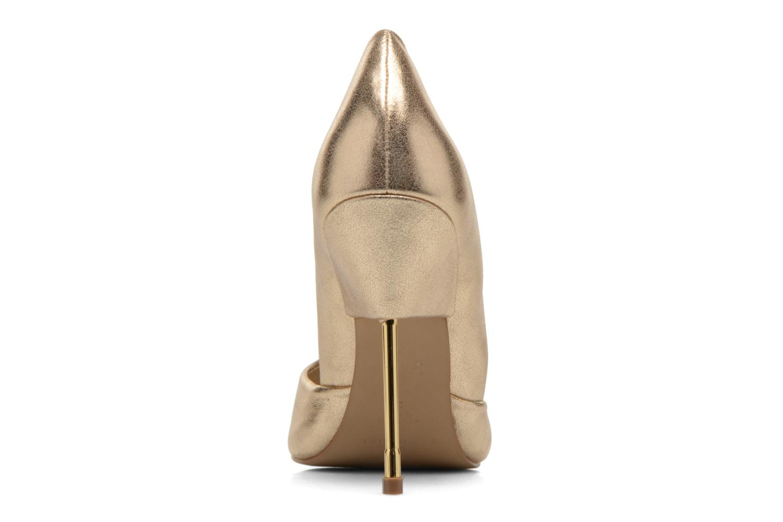 Escarpins San Marina Gerfaut/Met Or et bronze vue droite