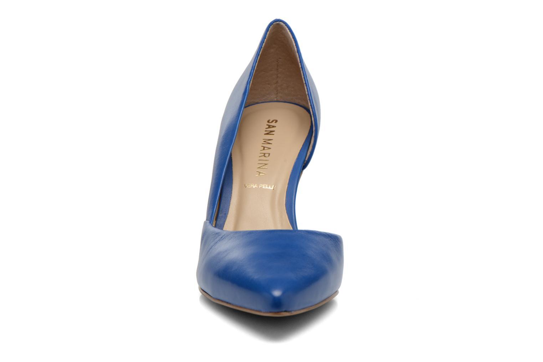 Escarpins San Marina Mecita Bleu vue portées chaussures