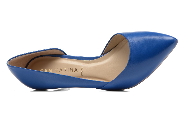 Escarpins San Marina Mecita Bleu vue gauche