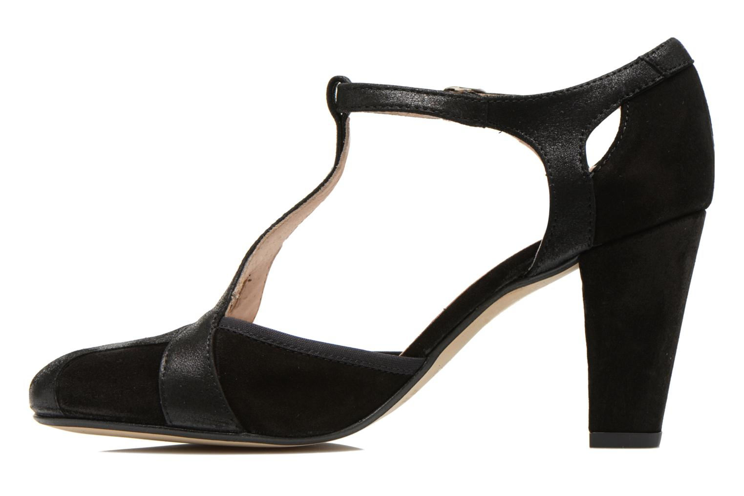 High heels San Marina Mocata Black front view