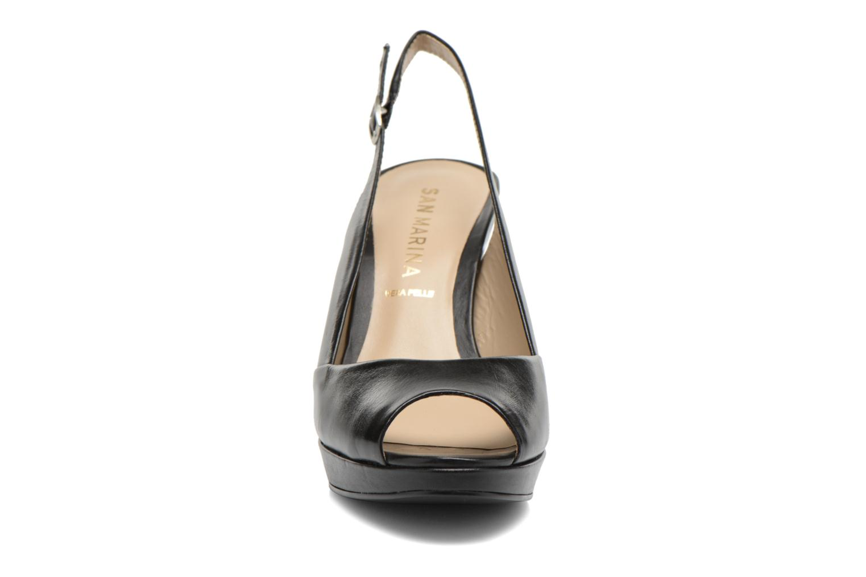 Sandals San Marina Nardo Black model view