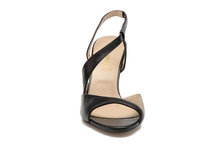 Sandales et nu-pieds San Marina Fovina Noir vue portées chaussures