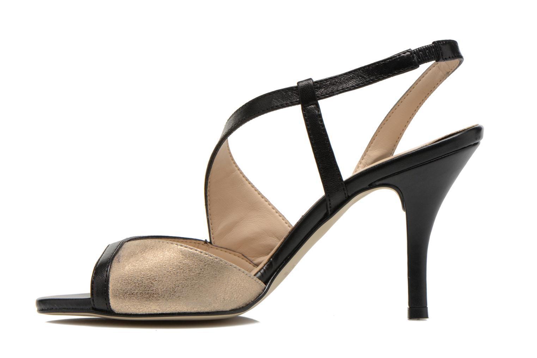 Sandales et nu-pieds San Marina Fovina Noir vue face