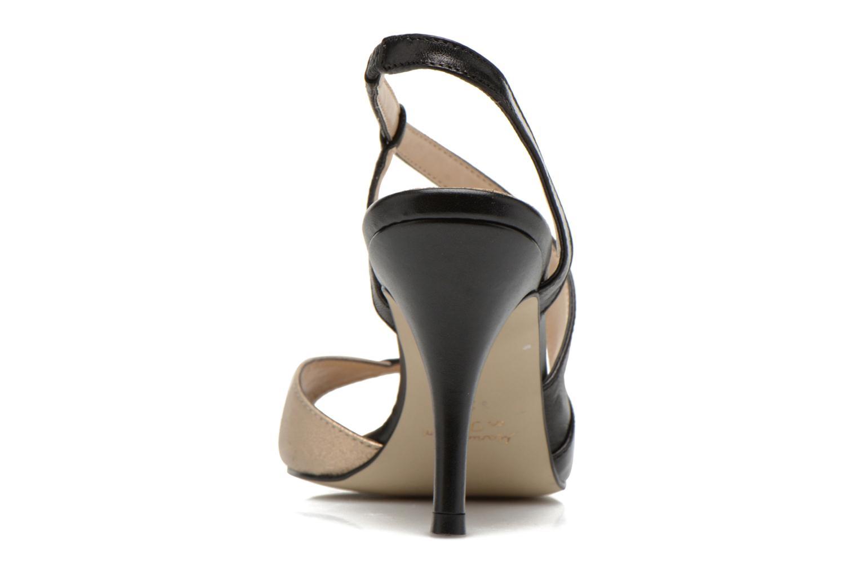 Sandales et nu-pieds San Marina Fovina Noir vue droite