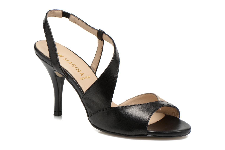 Sandales et nu-pieds San Marina Fovina Noir vue détail/paire