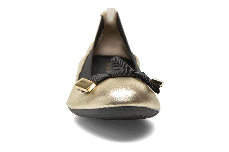 Ballerines San Marina Lesa/Met Or et bronze vue portées chaussures