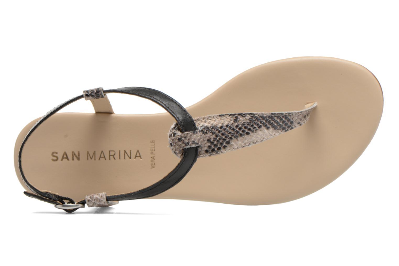 Sandales et nu-pieds San Marina Cosa/Serp Multicolore vue gauche