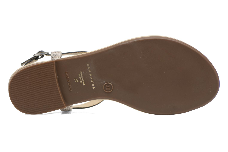Sandales et nu-pieds San Marina Cosa/Serp Multicolore vue haut