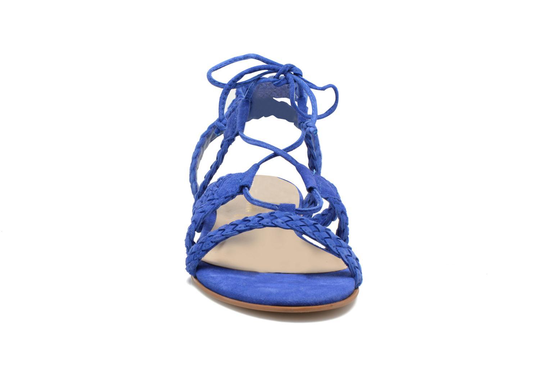 Sandalen San Marina Vesma/Nub blau schuhe getragen