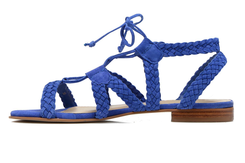 Sandalen San Marina Vesma/Nub blau ansicht von vorne