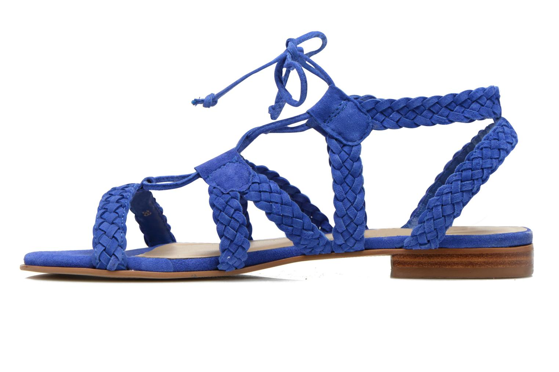 Sandalen San Marina Vesma/Nub Blauw voorkant