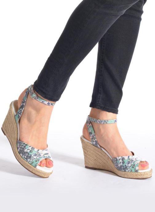 Sandalen San Marina Gidila/Serp mehrfarbig ansicht von unten / tasche getragen