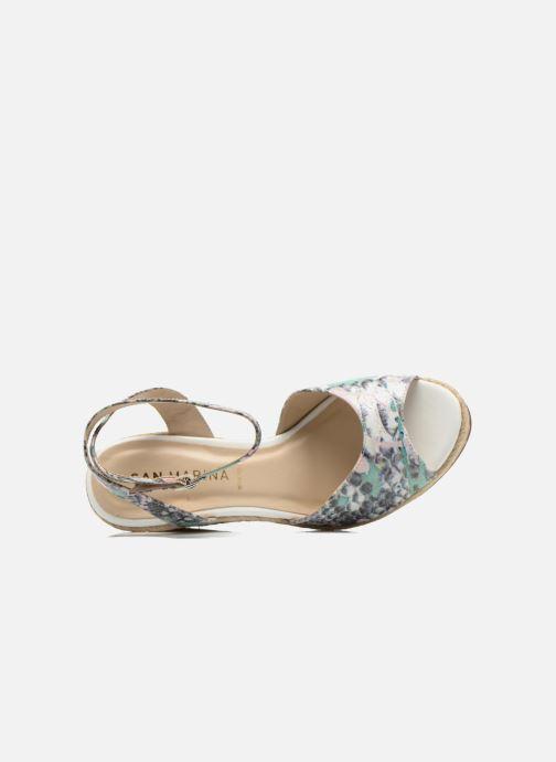 Sandales et nu-pieds San Marina Gidila/Serp Multicolore vue gauche