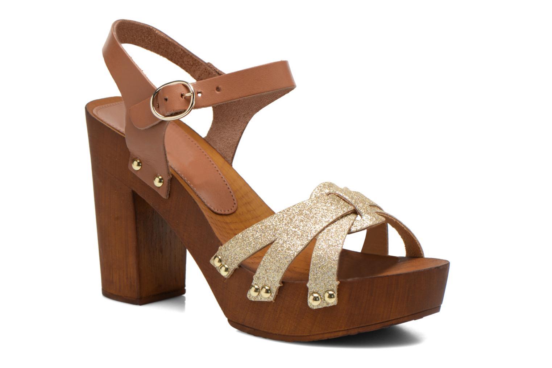 Sandalen San Marina Debani/Glit braun detaillierte ansicht/modell