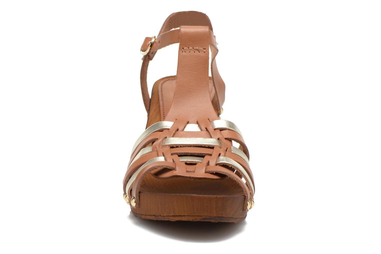 Sandales et nu-pieds San Marina Doctrine Multicolore vue portées chaussures