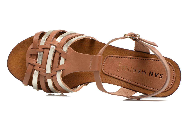Sandales et nu-pieds San Marina Doctrine Multicolore vue gauche