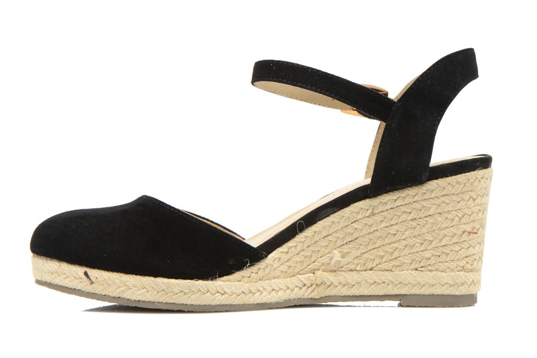 Sandales et nu-pieds San Marina Coquille Noir vue face