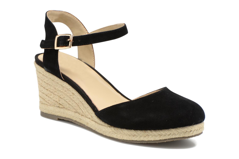Sandales et nu-pieds San Marina Coquille Noir vue détail/paire