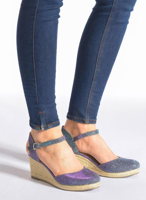Sandals San Marina Coquille/Tiss Multicolor view from underneath / model view