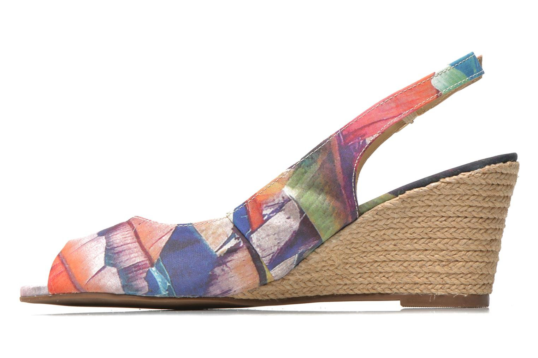Sandales et nu-pieds San Marina Navaja/Tiss Multicolore vue face