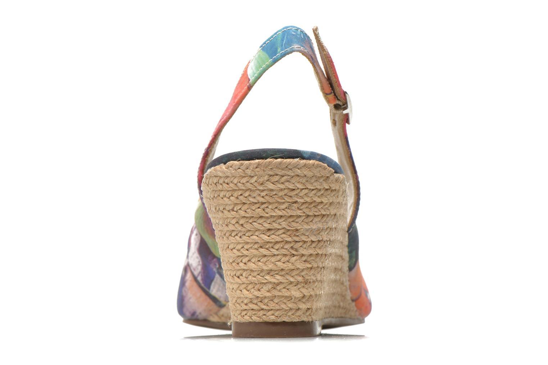 Sandales et nu-pieds San Marina Navaja/Tiss Multicolore vue droite