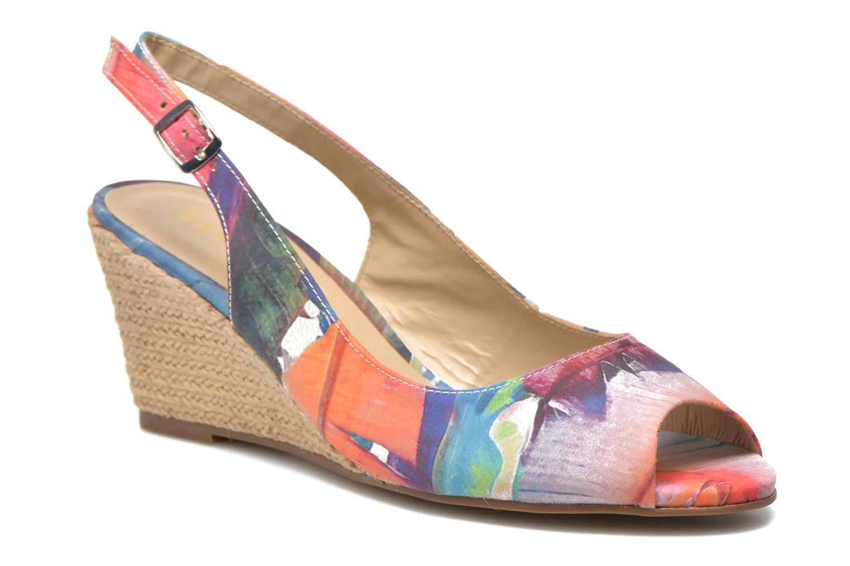 Sandales et nu-pieds San Marina Navaja/Tiss Multicolore vue détail/paire