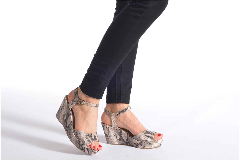 Sandales et nu-pieds San Marina Vegria/Serp Multicolore vue bas / vue portée sac
