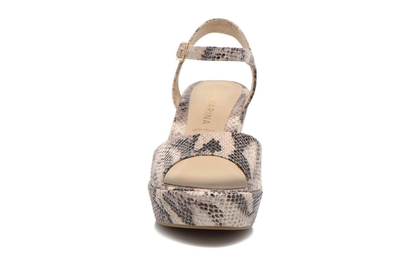 Sandales et nu-pieds San Marina Vegria/Serp Multicolore vue portées chaussures