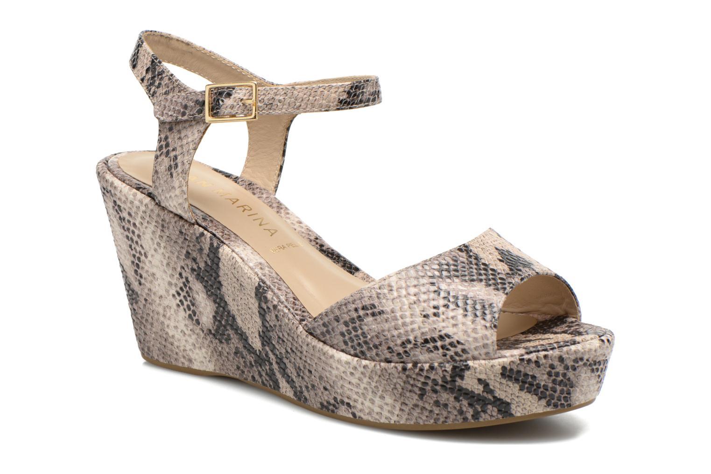 Sandales et nu-pieds San Marina Vegria/Serp Multicolore vue détail/paire