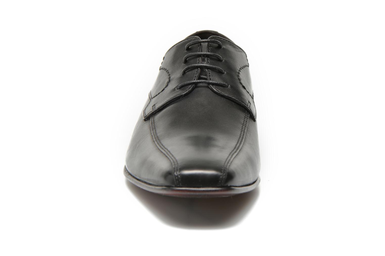 Lace-up shoes San Marina Acero Black model view