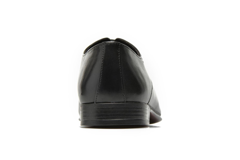 Chaussures à lacets San Marina Acero Noir vue droite