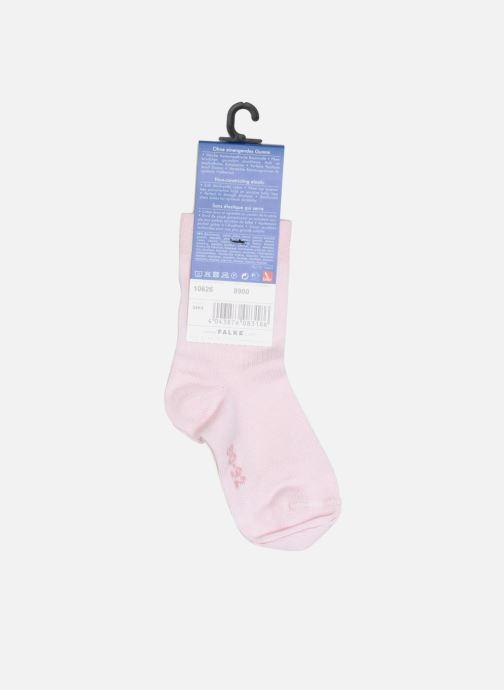 Chaussettes et collants Falke Chaussettes Enfant Coton Malaga sens. SO Rose vue face