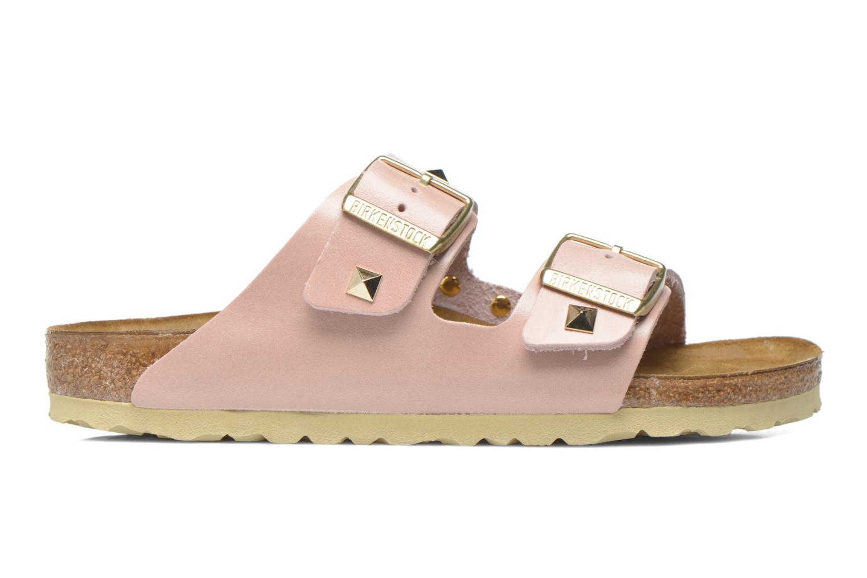 Clogs og træsko Birkenstock Arizona Cuir Studded W (Smal model) Pink se bagfra