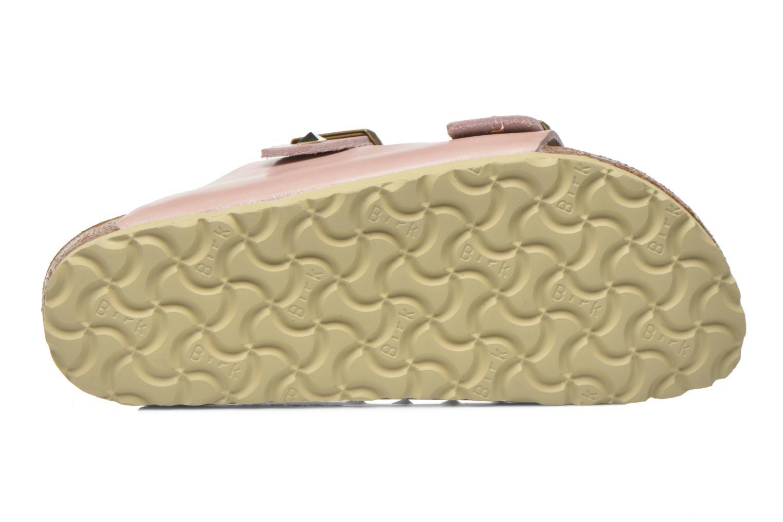 Clogs og træsko Birkenstock Arizona Cuir Studded W (Smal model) Pink se foroven