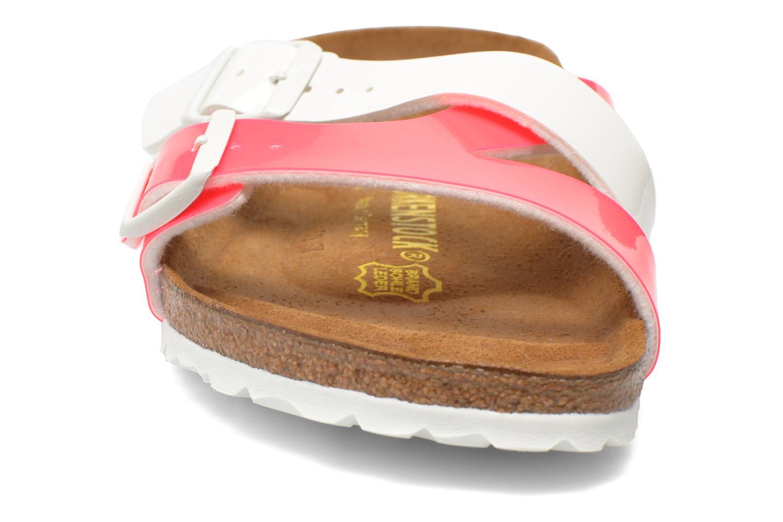 Mules et sabots Birkenstock Yao Flor Rose vue portées chaussures