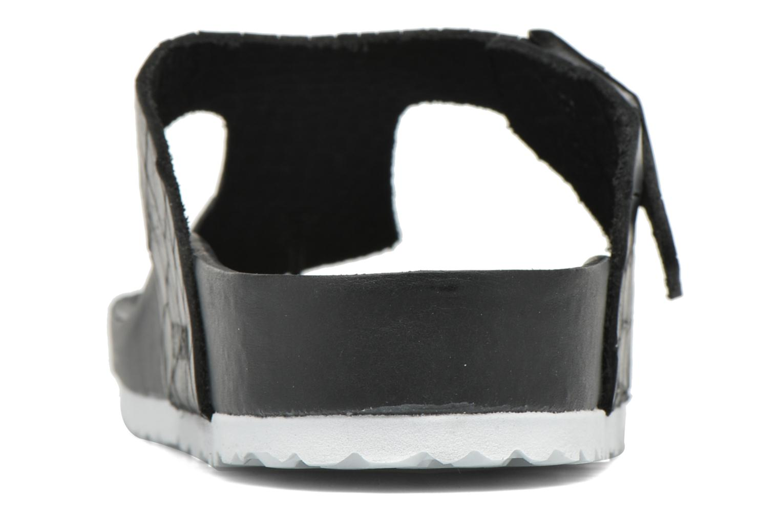 Flip flops Birkenstock Ramses Cuir M Black view from the right