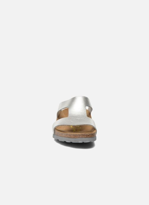 Mules et sabots Papillio Charlize Cuir W Argent vue portées chaussures