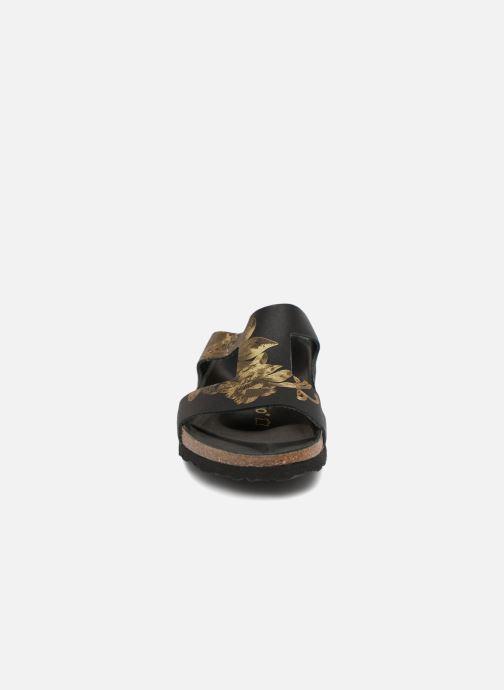 Mules et sabots Papillio Charlize Cuir W Noir vue portées chaussures